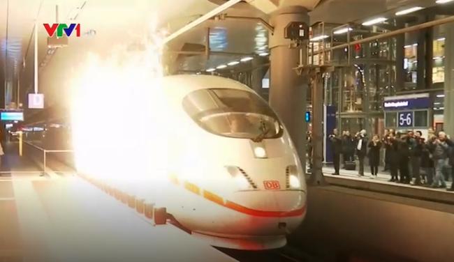 Mất 4 tiếng ''München - Berlin'' tuyến tàu cao tốc mới tại Đức
