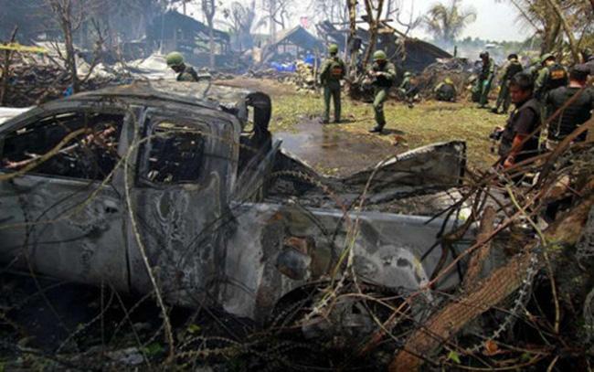 Nổ bom ở miền Nam Thái Lan, 5 người thiệt mạng - ảnh 2