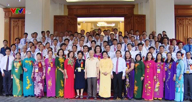 Tổng Bí thư Nguyễn Phú Trọng gặp mặt các đại biểu nông dân xuất sắc - ảnh 2