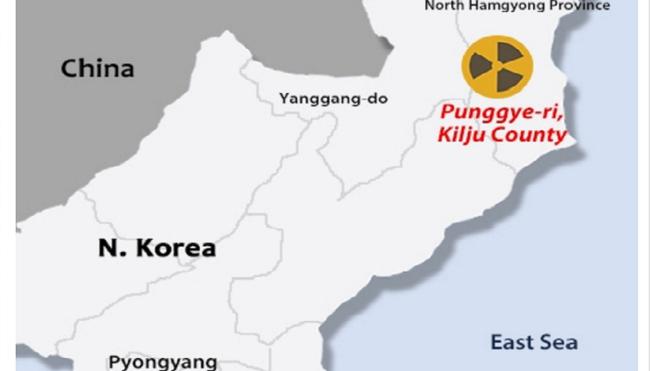 Động đất xảy ra gần khu vực thử hạt nhân của Triều Tiên - ảnh 1