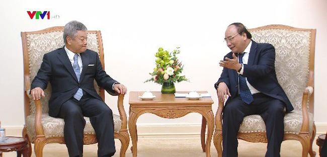 Thủ tướng tiếp Chủ tịch Tập đoàn truyền thông Nikkei - ảnh 1