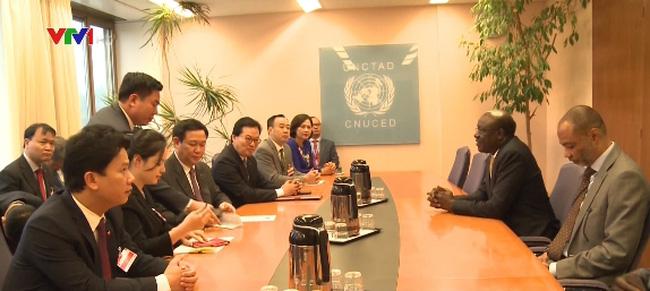 Việt Nam ủng hộ thúc đẩy hệ thống thương mại quốc tế - ảnh 1
