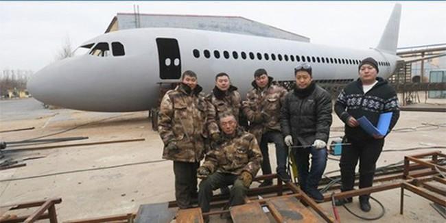 Nông dân Trung Quốc chi 120.000 USD làm bản sao Airbus 320 - ảnh 2