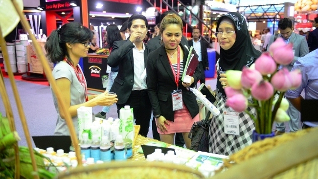 The Vietnamese pavilions attract huge attention from visitors.