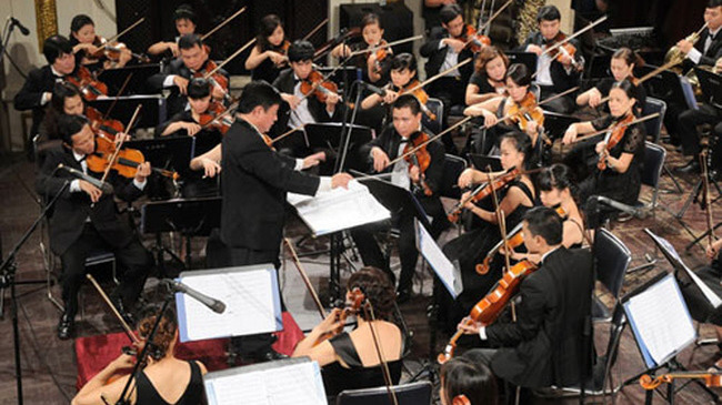 The festival is held to showcase Vietnam's recent achievements in new music (Photo: VTV)