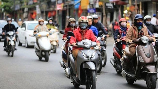 The temperatures in Hanoi are forecast to drop to 14-17C.