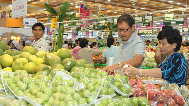 Vietnamese goods have also dominated imported goods at supermarkets and trade centres with FDI investment (illustrative image)