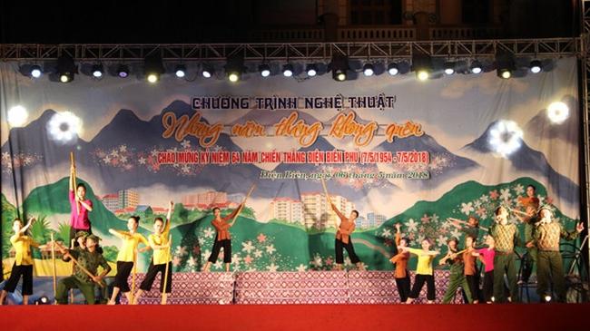 The gala performance to mark the 64th anniversary of Dien Bien Phu Victory (Source: Bao Dien Bien Phu)