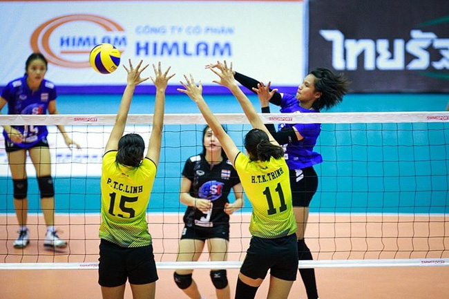 Vietnam lost 1-3 to Thailand in the first match after the opening ceremony of the Asian Women's U19 Volleyball Championship on June 10 (Photo: VNA)