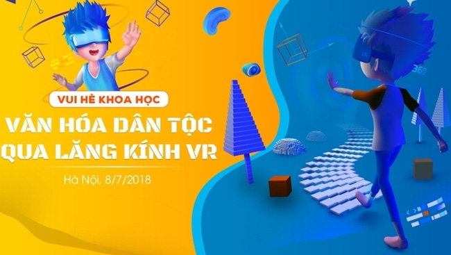 The children will be invited to explore the indigenous culture of 54 ethnic groups in Vietnam through the lenses of virtual reality glasses.