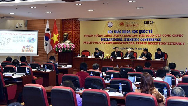 The conference takes place in Hanoi on November 8 (Photo: nhandan.com.vn)