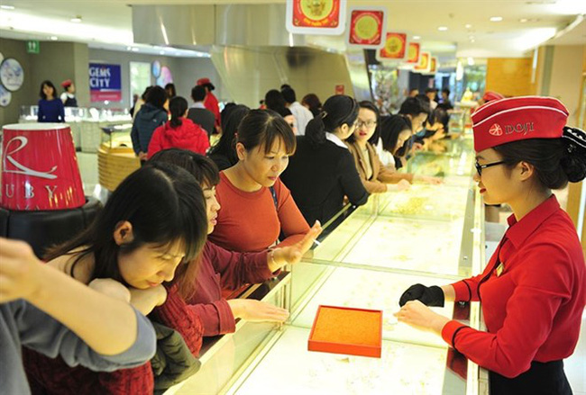 Vietnam is the strongest gold jewellery market in Asia, according to the World Gold Council's report. (File Photo)