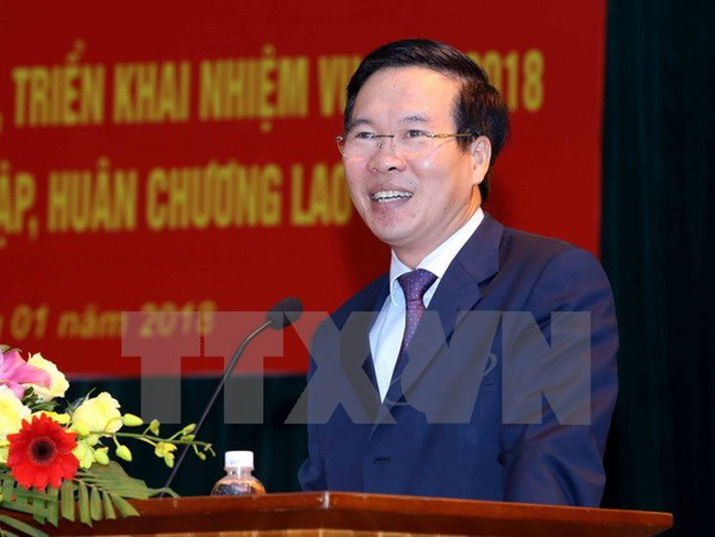 Head of the Communist Party of Vietnam (CPV) Central Committee's Commission for Information and Education Vo Van Thuong (Photo VNA)