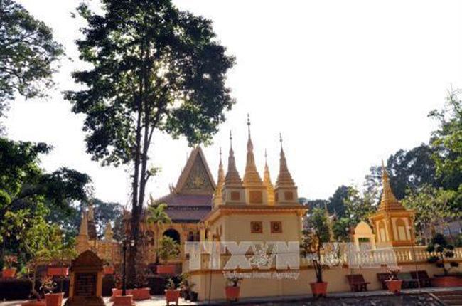 Ang pagoda in Tra Vinh (Source: VNA)