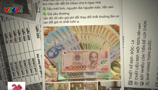 Rục rịch dịch vụ đổi tiền mới trước Tết - ảnh 2