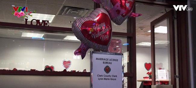 Văn phòng đăng ký kết hôn ở sân bay thành phố Las Vegas, Mỹ - ảnh 2