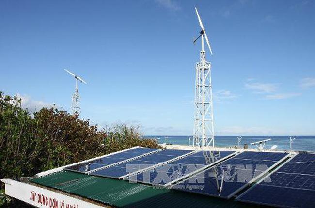 Các điểm đảo Trường Sa đã được đảm bảo cấp điện 24/24h - ảnh 2