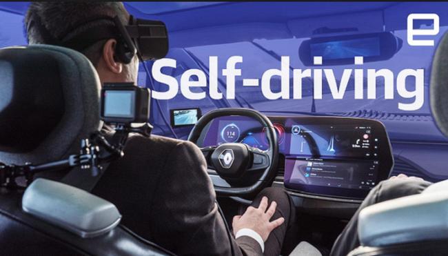Trải nghiệm kính thực tế ảo kết hợp xe tự lái - ảnh 1