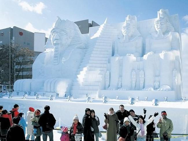 lễ hội tuyết tại Sapporo, Nhật Bản