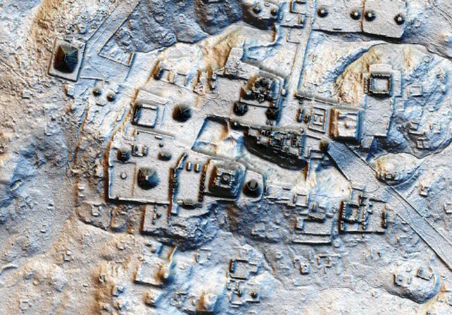 Tìm thấy thành phố bí ẩn của người Maya - ảnh 2