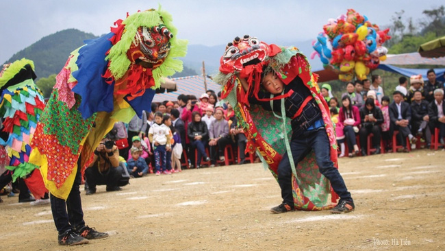 Mask dance – An intangible cultural heritage in Lang Son (Photo: VNA)