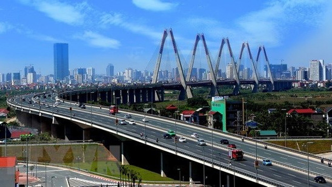Nhat Tan bridge in Hanoi (Illustrative image) (Source: VNA)
