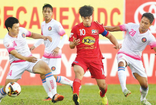 Lịch trực tiếp bóng đá hôm nay (14/4): HAGL làm khách của Sài Gòn, Man City chạm trán Tottenham - ảnh 1