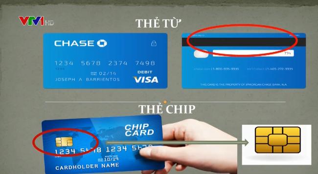 Thẻ và thẻ chip khác nhau ntn