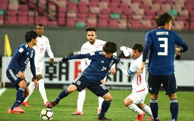 Kết quả ngày thi đấu 14/8 bóng đá nam ASIAD 18: Nhật Bản thắng nhọc Nepal,  Thái Lan hòa Qatar