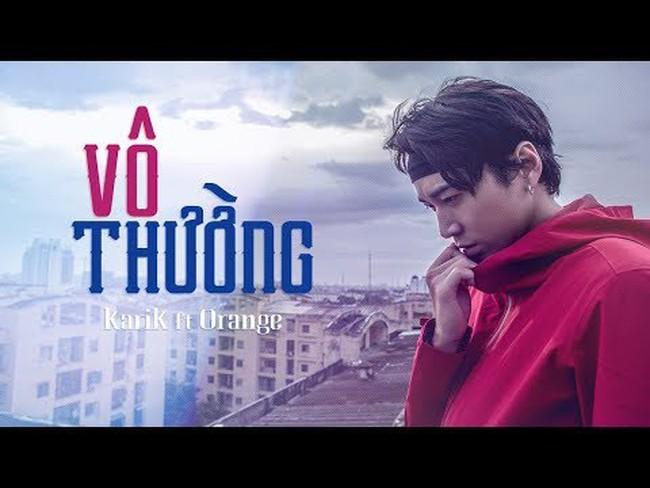 """VTV.vn - Tối qua (1/8), cặp đôi Karik và Orange chính thức tung lyric video  của ca khúc mới mang tên """"Vô thường"""", hứa hẹn sẽ gây bão trong thời gian  tới."""