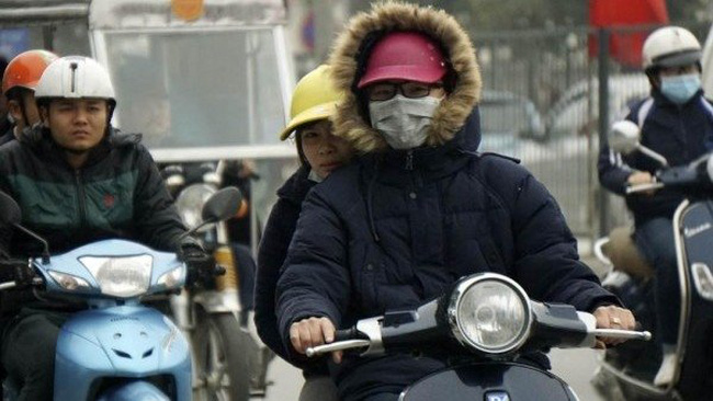 Hanoi is forecast to turn cold from December 27 with the lowest temperature between 10-13C on December 29. (illustrative image)