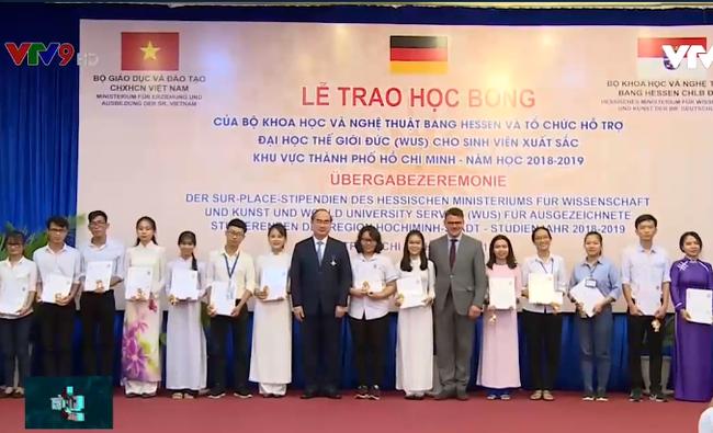Đức trao học bổng cho 250 sinh viên Việt Nam xuất sắc