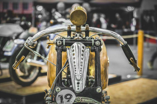 Độc đáo những chiếc xe máy độ độc nhất vô nhị trên thế giới - ảnh 13