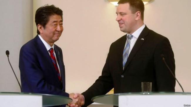 Nhật Bản thúc đẩy hợp tác với Estonia - ảnh 1
