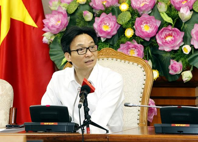 Deputy Prime Minister Vũ Đức Đam