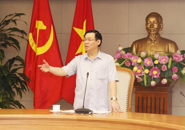 Deputy Prime Minister Vương Đình Huệ (Photo: VPG)