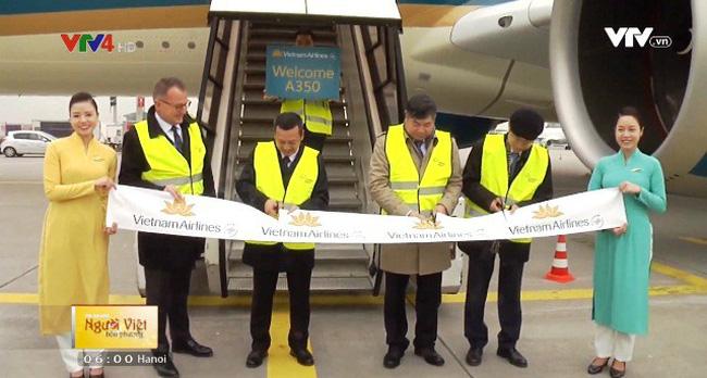 Vietnam Airlines khai thác máy bay Airbus A350 tuyến bay tới Đức