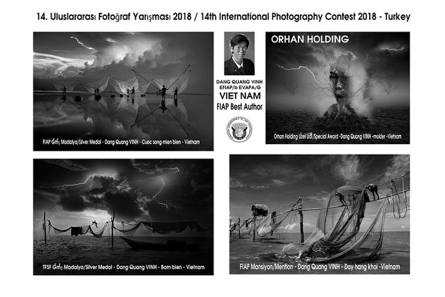 The prize-winning works of Vietnamese photographer Dang Quang Vinh.