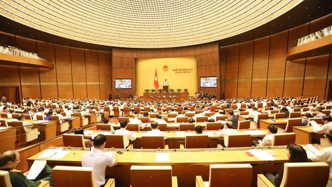 The question and answer of the National Assembly (Photo: VGP)