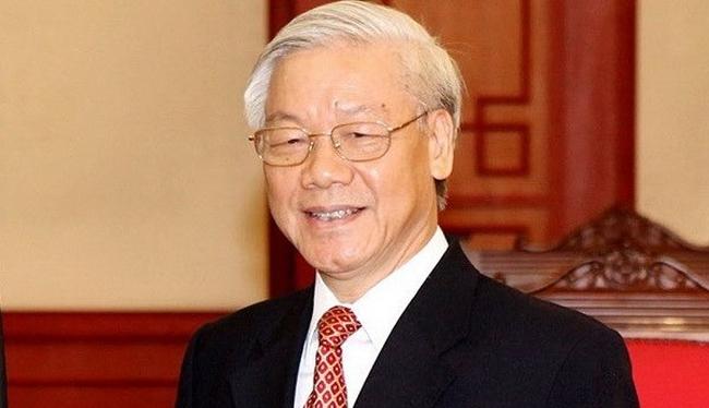 Party General Secretary Nguyen Phu Trong
