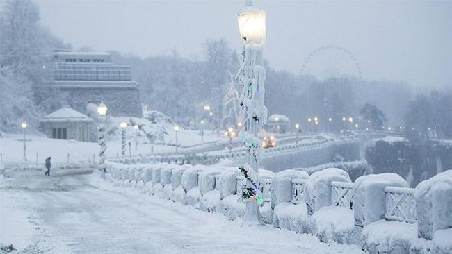 Giật mình trước chùm ảnh về mùa đông lạnh giá ở Bắc Mỹ   VTV.VN