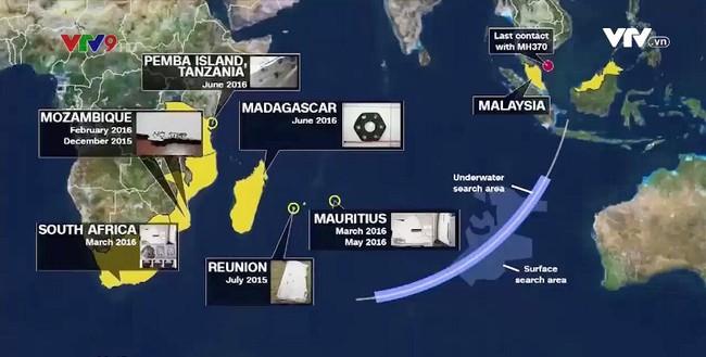 Hành trình tìm kiếm máy bay mất tích MH370 - ảnh 1