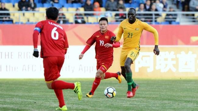 hai shines again to earn vietnam a shocking win over australia vtv