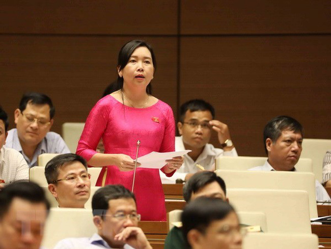 The majority of lawmakers supported the expansion of the draft amended Anti-corruption Law's scope to the non-State sector during the 14th National Assembly's fifth session on June 13 in Hanoi (Photo: VNA)