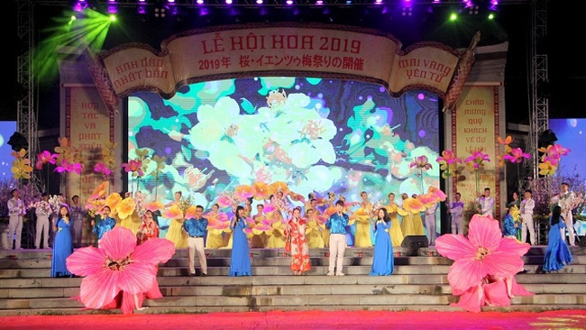 An arts performance at the opening ceremony (Photo: baoquangninh.com.vn)