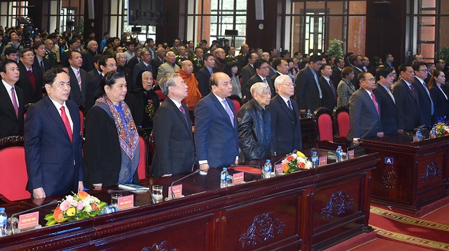 Delegates at the anniversary ceremony. (Photo: VGP)