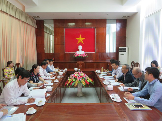 An overview of meeting between leading officials of Can Tho and delegation from the World Health Organisation (WHO) in Vietnam (Source: VNA)