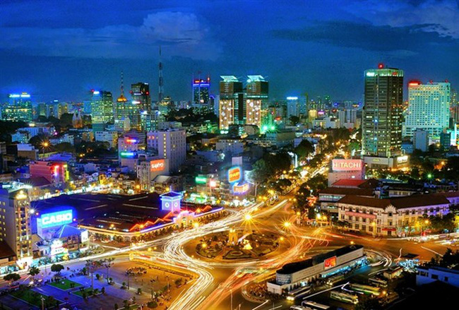 HCM City ranks eighth among the global Top 10 most dynamic growing cities in JLL's Short-Term City Momentum Index (CMI) 2019. (Photo: congan.com.vn)