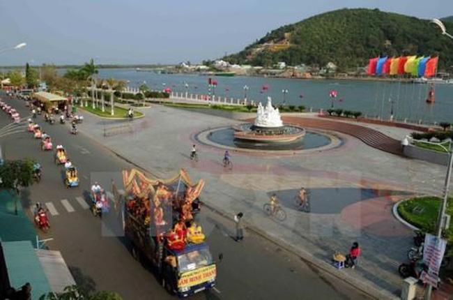 A corner of Ha Tien town, Kien Giang province (Source: VNA)