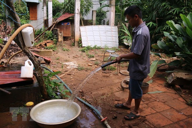 Residents in new-style rural areas gain access to clean water (Source: VNA)